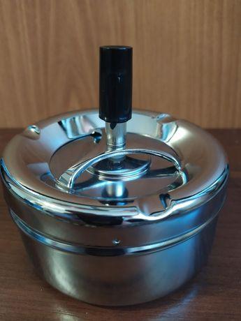 Пепельница юла бездымная с системой антидым 10,5 см диаметр