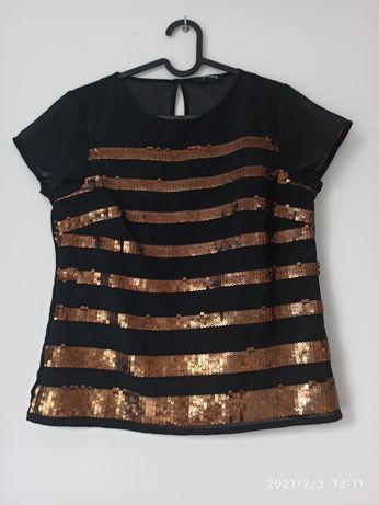 Piękna koszulka z cekinami