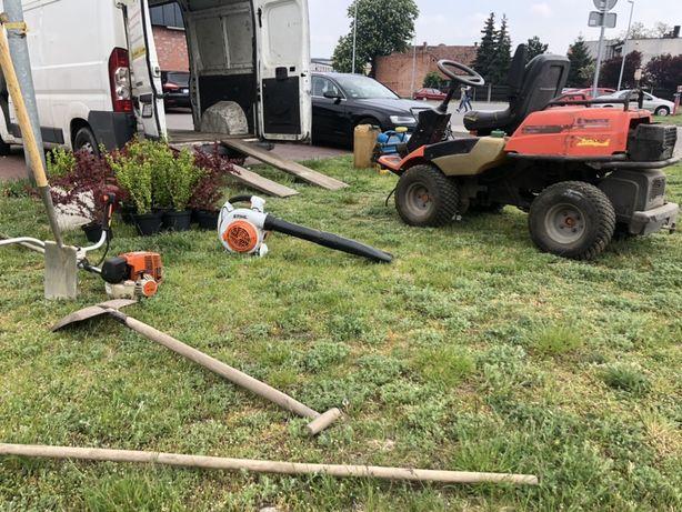 Usługi ogrodnicze koszenie trawy karczowanie wertykulacj wywóz odpadów