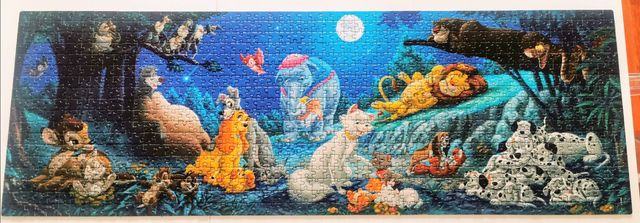Puzzle Clementoni 1000 Panorama Disney
