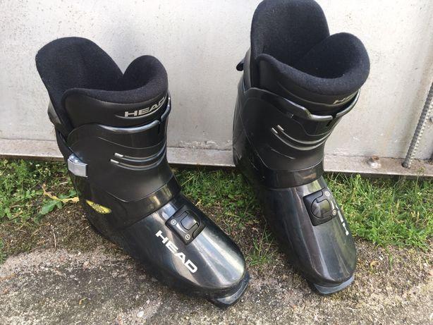 Head buty narciarskie czarne 28 cm pokrowiec gratis!