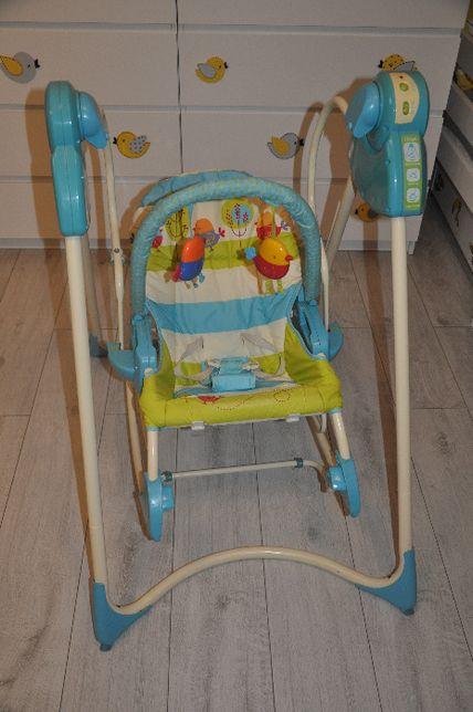 FISHER PRICE Huśtawka – bujaczek – fotelik/krzesełko 3w1