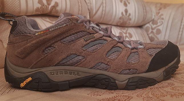 Трекинговые полуботинки, кроссовки Merrell GORE - TEX р.38, 24,5 см