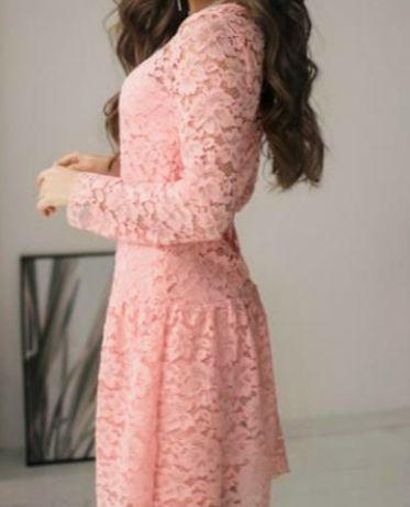 Платье гипюровое 42-44