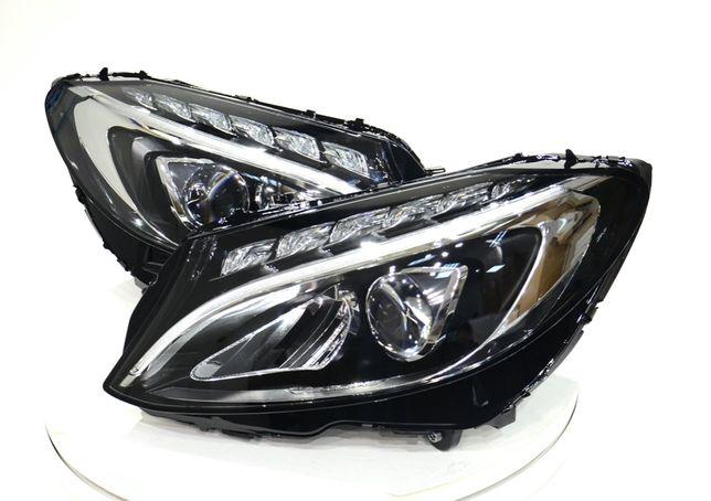 Фары Full Led Mercedes C W205 2014-2021 A2059067303 A2059067403