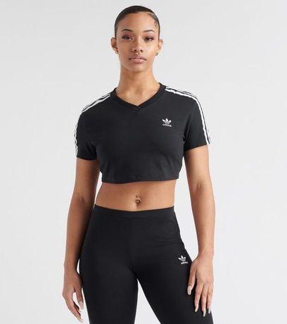 Adidas кроп топ оригинал