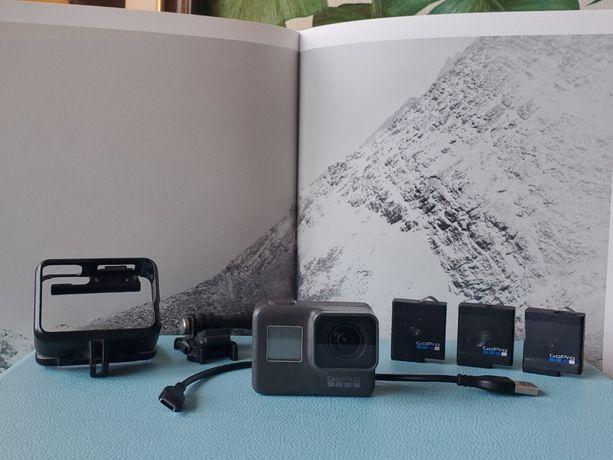 GoPro Hero 5 Black z 3 bateriami