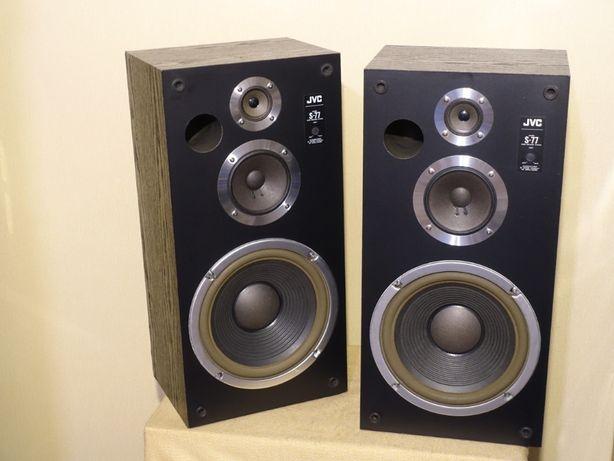 Японская 3-х полосная HI-FI акустика 80-х JVC S-77 (НЧ 250мм/120Вт/8Ом