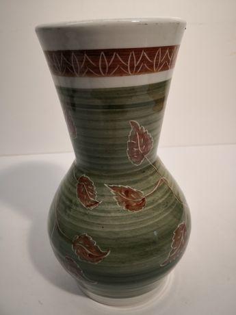 Wazon ceramiczny ręcznie malowany