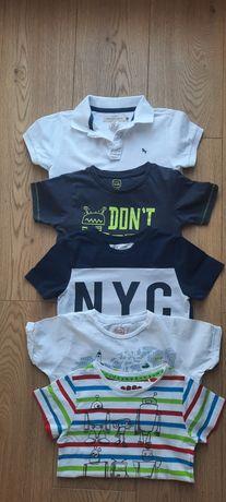 Koszulka, koszulki T-shirt, h&m, Reserved 110, 116 gratis