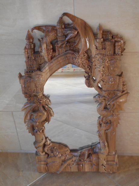 """Рама""""Гра престолів"""" для дзеркала,чи фото"""