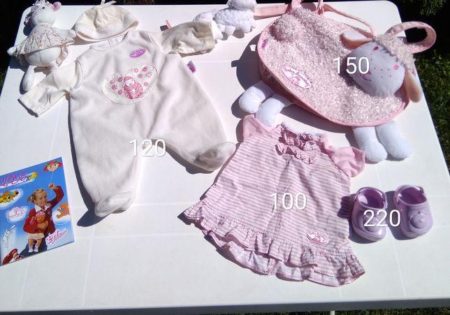 Одежда ,пустышка оригинал от zapf на шу шу Аннабель(baby Annabelle)