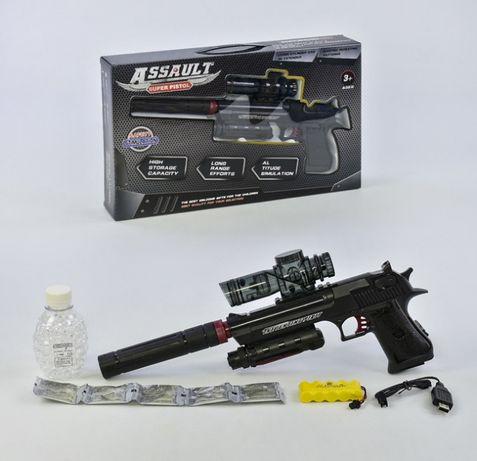 Страйкбольный пистолет Berreta M-92 FS с глушителем на аккуме Арбиз