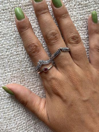 Anel de prata NOVO S925 bijutieria joia brilhantes pandora colar fio