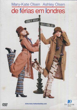 De Férias Em Londres - Novo/Selado c/Mary-Kate Olsen, Ashley Olsen