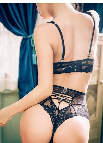 Корректирующие трусики бельё эротические трусы со шнуровкой сзади