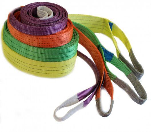 Текстильные ленточные стропы, лебедки,тали ручные, электрические.