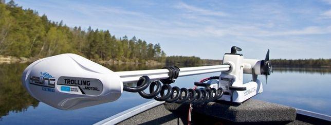 elektryczny silnik do łodzi dzibowy 55 lbs / 12 v Cayman Haswing pilot
