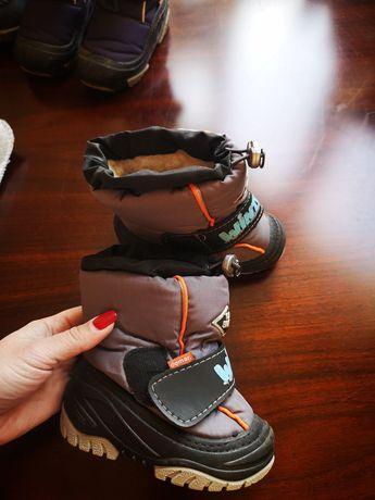 Дитячі чобітки, зима