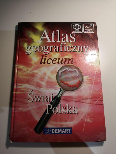 Atlas geograficzny liceum, Świat, Polska