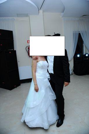 Okazja!!! Tylko 150 zł!!! Suknia ślubna rozm. 36 z gorsetem