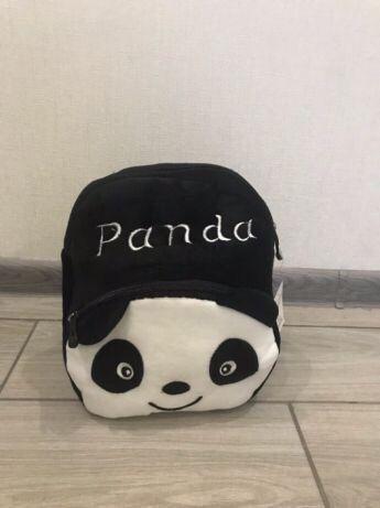 Новый фирменный детский рюкзак рюкзачок панда - мишка с магазина
