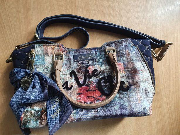 Torebka damska + plecak ANEKKE Couture La Vie Chic