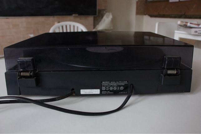 Gira discos Sony PS-LX49
