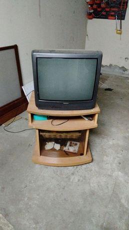 Telewizor 21 cali plus szafka