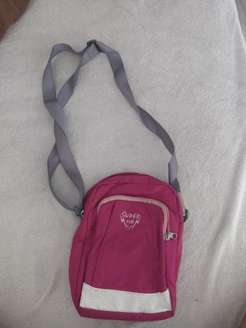 Różowa torebka .
