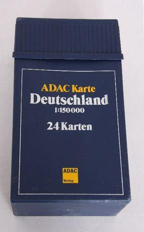 ADAC komplet map Niemiec 24szt