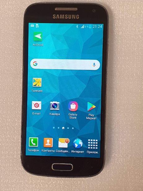 Samsung Galaxy S4 Mini i9192 на 2 sim, UA UCRF, офиц. хорошее состояни