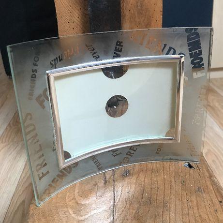 Ramka fotograficzna na zdjęcie szklana