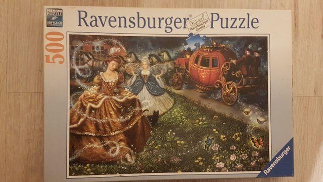 Puzzle Ravensburger - Kopciuszek 500 elementów