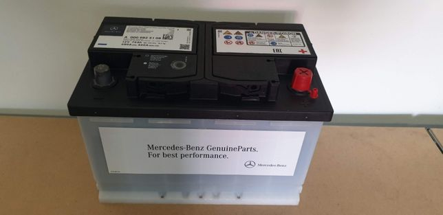 Akumulator Mercedes 74Ah 680A , Nowy, Oryginalny