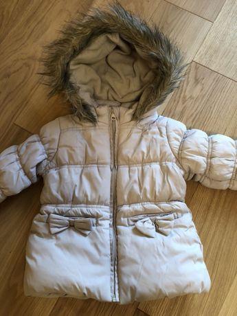 Zimowa kurtka Coccodrillo w rozm. 86 cm na 18 miesięcy