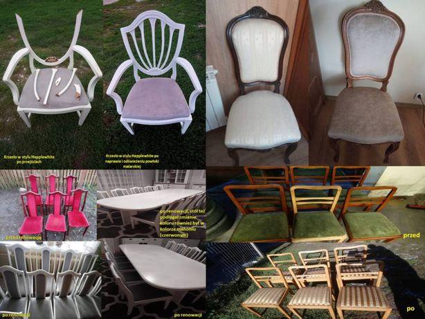 Renowacja mebli, schodów i innych elememtów z drewna