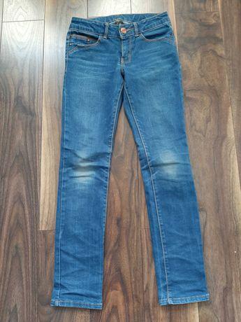 Spodnie chłopięce jeans Zara roz.128- super slim