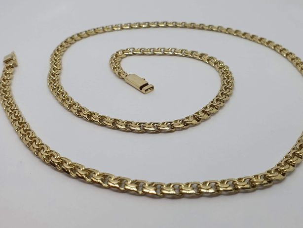Złoty nowy łańcuszek Galibardi 31,9 g złoto 585 14 k