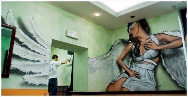 Graffiti -Trabalhos de decoração