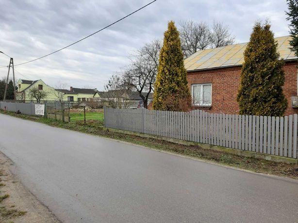 Dom wraz z działką i ziemią rolną w miejscowości Dąbrowa k. Ciepielowa