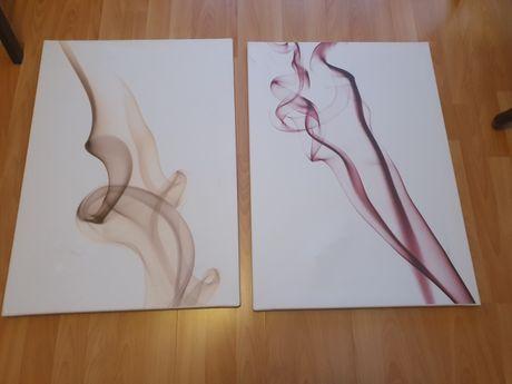 Obrazy dwie sztuki