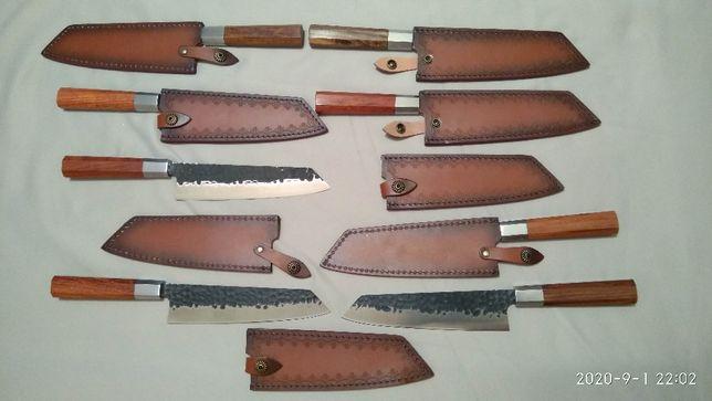 Кухонный Японский нож Киритсуке + кабура (ножны)