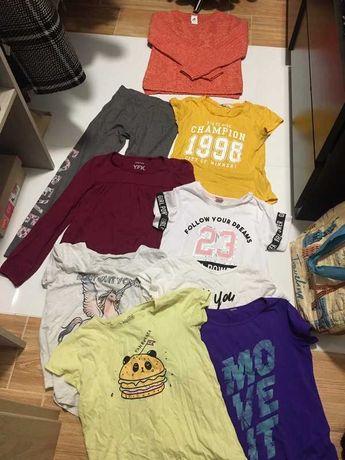 Zestaw ubrań dla dziewczynki na 140
