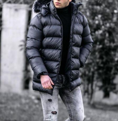 Зимняя куртка S,M ( armani, пуховик, calvin)