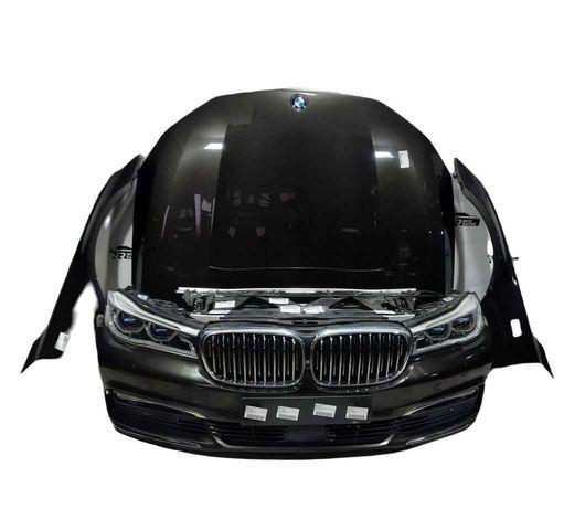 Maska Błotniki Lampy Pas przedni kompletny przód BMW G11 G12 Radar