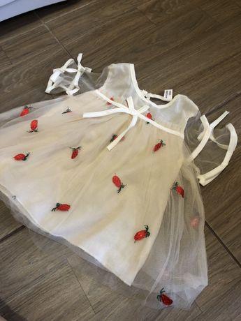 Продам Новое платье для девочки  -размер 74