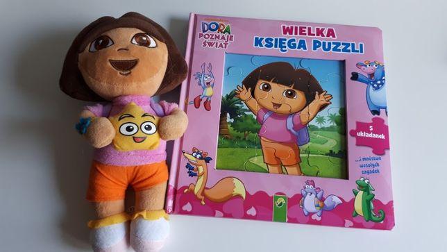 DORA lalka i puzzle