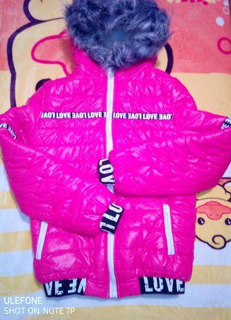 Куртка зима 44 овчина