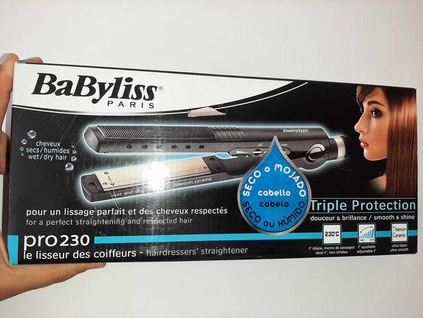 Babyliss - alisador cabelo triple protection